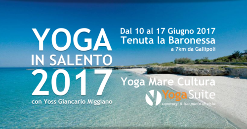Yoga in Salento 2017